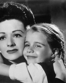 Margaret Lockwood (as Lucy) and Julia Lockwood (as Norey) in a photograph from The White Unicorn (1947) (10)