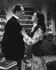 When Lucy (Margaret Lockwood) returns home she is met by Philip (Ian Hunter).  He tells her that Norey has had an accident.  'She rushed out to meet your car,' he tells her, 'only it wasn't your car, you didn't go.'  Horror stricken, Lucy demands to see Norey.  Philip refuses, 'you were always bad for her,' he says.  He accuses Lucy of undermining his dignity.  'Your dignity,' Lucy cries, 'you think I've deceived you and all you care about is your dignity.  You don't understand love,' she retorts.  'If you let me see her, I promise you I'll go and never come back,' Lucy says.