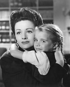 Margaret Lockwood (as Lucy) and Julia Lockwood (as Norey) in a photograph from The White Unicorn (1947) (74)