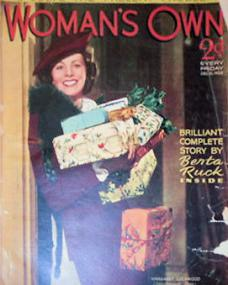 Woman's Own magazine with Margaret Lockwood.