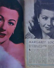 Yildiz magazine article with Margaret Lockwood. (Turkish)