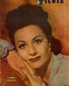 Yildiz magazine with Margaret Lockwood.  (Turkish)