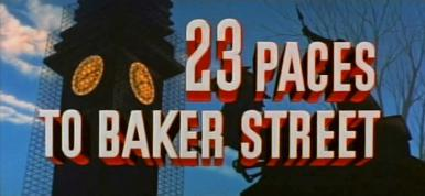 Main title from 23 Paces to Baker Street (1956)