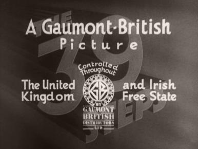 The 39 Steps (1935) opening credits (6)