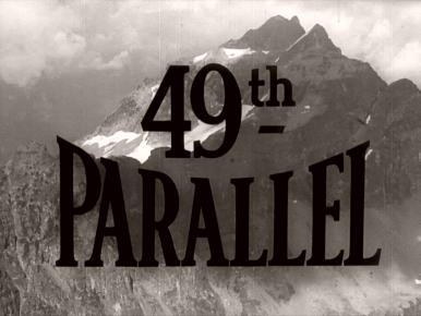 Main title from 49th Parallel (1941) (9)