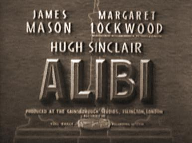 Main title from Alibi (1942)
