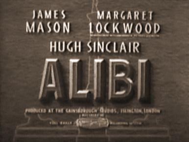 Main title from Alibi (1942)