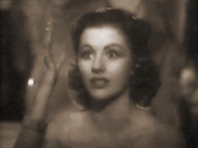 Margaret Lockwood, Judy Gray and Enid Stamp-Taylor in a film clip from Alibi