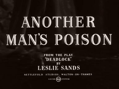 Main title from Another Man's Poison (1951) (4)