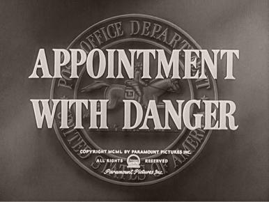 Main title from Appointment with Danger (1950) (3)