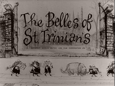 Main title from The Belles of St. Trinian's (1954) (6)
