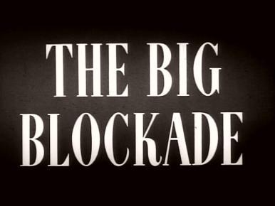 Main title from The Big Blockade (1942)