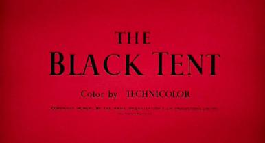 Main title from The Black Tent (1956) (3).  Color by Technicolor