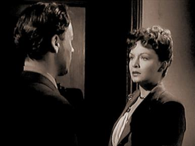 Screenshot from Bond Street with Derek Farr and Jean Kent
