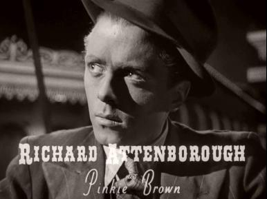 Main title from Brighton Rock (1948) (2).  Richard Attenborough as Pinkie Brown