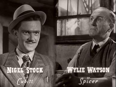 Main title from Brighton Rock (1948) (6).  Nigel Stock as Cubitt Wylie Watson as Spicer