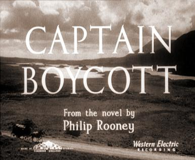 Main title from Captain Boycott (1947)