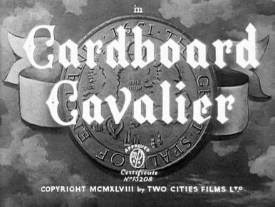Main title from Cardboard Cavalier (1949)