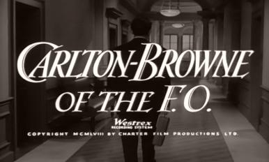 Main title from Carlton-Browne of the F.O. (1959) (6)