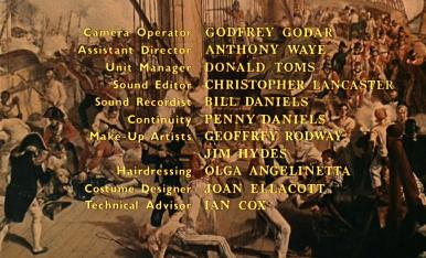 Main title from Carry on Jack (1964) (10)
