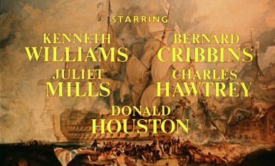 Main title from Carry on Jack (1964) (3).  Starring Kenneth Williams Bernard Cribbins, Juliet Mills, Charles Hawtrey, Donald Houston
