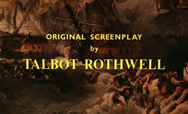 Main title from Carry on Jack (1964) (7).  Original screenplay by Talbot Rothwell