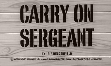 Main title from Carry On Sergeant (1958) (4)