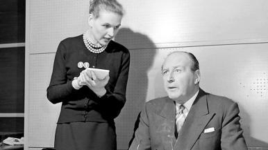 A Case for Dr Morelle (1957) photograph (1) | Cecil Parker, Sheila Sim