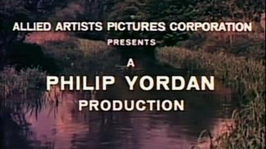 Opening credits from The Day of the Triffids (1962) (2). Allied Artists Pictures Corporation presents