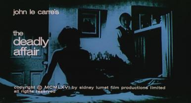Main title from The Deadly Affair (1967) (7)