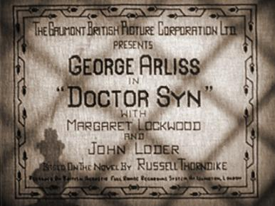 Main title from Doctor Syn (1937)