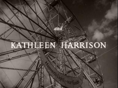 Main title from Double Confession (1950) (5).  And Kathleen Harrison
