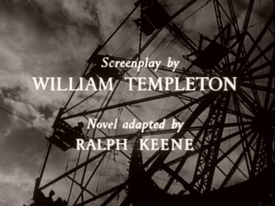 Main title from Double Confession (1950) (6).   Screenplay by William Templeton novel adapted by Ralph Keene