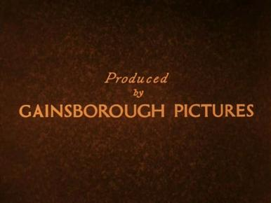 Main title from Downhill (1927) (3).  Produced by Gainsborough Pictures