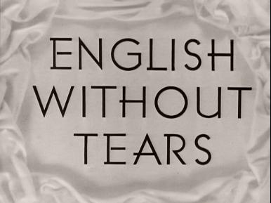 Main title from English Without Tears (1944) (4)