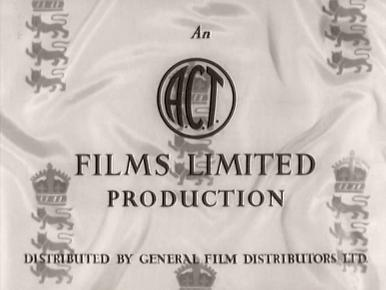 Main title from The Final Test (1953) (2).  An ACT Films Limited production.  Distributed by General Film Distributors Ltd
