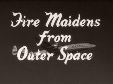Main title from Fire Maidens from Outer Space (1956)