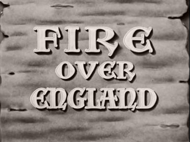 Main title from Fire Over England (1937) (3)