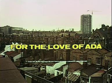 Main title from For the Love of Ada (1972) (3)