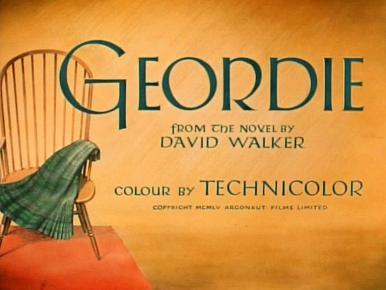 Main title from Geordie (1955)