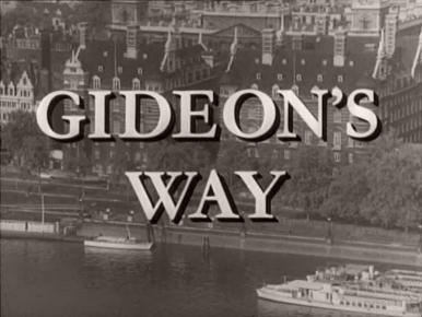 Main title from Gideon's Way (1965-66)