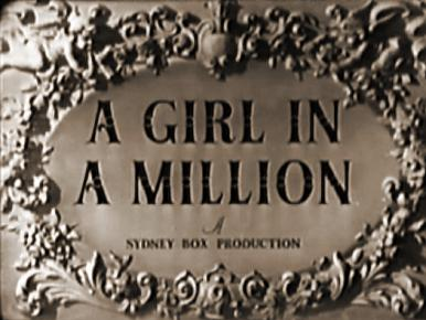 Main title from A Girl in a Million (1945).  Having divorced a nagging wife, a chemist marries a dumb girl, but when he cures her...