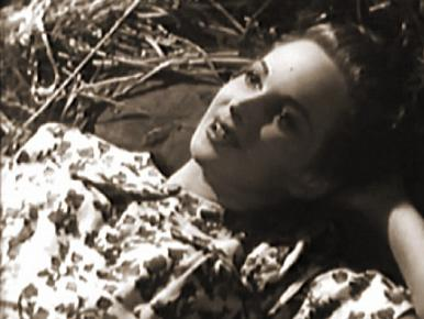 Joan Greenwood in a film clip from A Girl in a Million