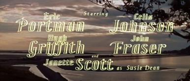 Main title from The Good Companions (1957) (4)  Starring Eric Portman Celia Johnson, Hugh Griffith, John Fraser and Janette Scott as Susie Dean