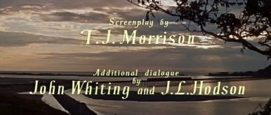 Main title from The Good Companions (1957) (6)  Screenplay by T J Morrison