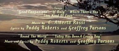 Main title from The Good Companions (1957) (7)