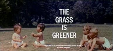 Main title from The Grass is Greener (1960)