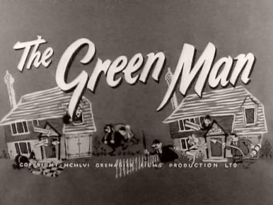 Main title from The Green Man (1956) (2).  Copyright 1956 Grenadier Films Production Limited