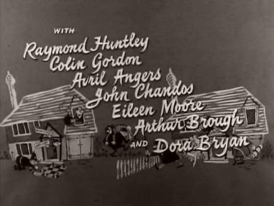Main title from The Green Man (1956) (4).  With Raymond Huntley Colin Gordon, Avril Angers, John Chandos, Eileen Moore, Arthur Brough and Dora Bryan