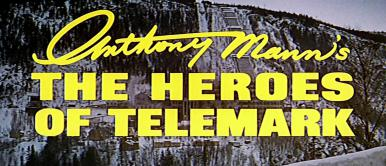 Main title from The Heroes of Telemark (1965). Norwegian resistance workers in World War II help the Allies to smash a heavy water plant
